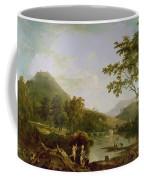 Dinas Bran From Llangollen Coffee Mug