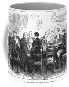 Dinner Party, 1880 Coffee Mug