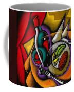Dinner With Wine Coffee Mug