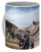 Dino's In The Badlands Coffee Mug