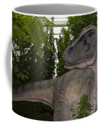 Dinosaur Inside The Conservatory Coffee Mug