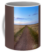 Dirt Road Through The Prairie Coffee Mug