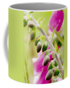Discussing When To Bloom Coffee Mug by Rory Sagner