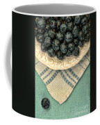 Dish Of Fresh Blueberries Coffee Mug