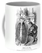 Disraeli Cartoon, 1876 Coffee Mug