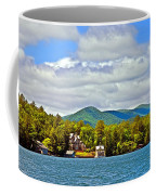 Distant Lake View In Spring Coffee Mug