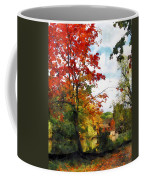 Distant Mill  In Autumn Coffee Mug