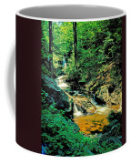 Distant Ozone Falls And Rapids - Summer Coffee Mug