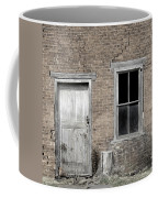 Distressed Facade Coffee Mug