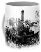 Do-00508 Mar Mikhael Train Bw Coffee Mug