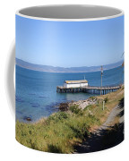 Dock At Point Reyes Calfornia . 7d16069 Coffee Mug