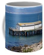 Dock At Point Reyes Calfornia . 7d16070 Coffee Mug