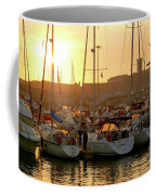 Docked Yachts Coffee Mug by Carlos Caetano