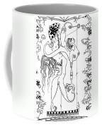 Doctor Vultura's Proportional Sky-fish Daughters  Coffee Mug by Kelly Jade King