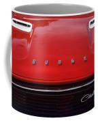 Dodge Challenger Hood And Grill Coffee Mug