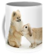 Dog And Rabbit Coffee Mug