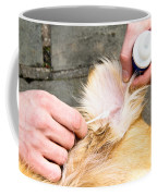 Dog Grooming Coffee Mug by Photo Researchers, Inc.