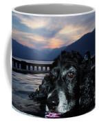 Dog In A Water Fountain Coffee Mug
