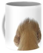 Dog Watching Out Coffee Mug