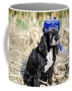 Dog With Diving Mask Coffee Mug
