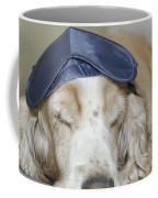 Dog With Sleep Mask Coffee Mug