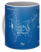 Doggie Vacuum Patent Artwork Coffee Mug