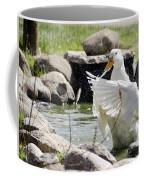Doin The Duck Splash Coffee Mug