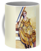 Doll On Canvases  Coffee Mug