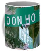 Don Ho Street Coffee Mug