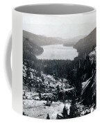 Donner Lake - California - C 1865 Coffee Mug