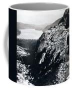 Donner Lake From Summit - California - C 1865 Coffee Mug
