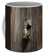 Door Handle In The Shape Of A Hand Coffee Mug