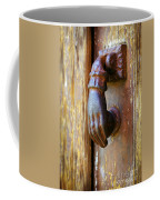 Door Knocker Coffee Mug