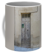 Door With Green Mailbox Coffee Mug