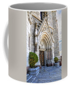 Doorway Sacred Heart Cathedral Coffee Mug