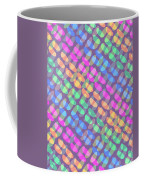 Dotted Check Coffee Mug by Louisa Knight