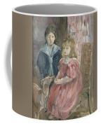 Double Portrait Of Charley And Jeannie Thomas Coffee Mug