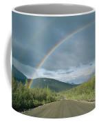 Double Rainbow Over The Denali Highway Coffee Mug