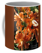 Double Tiger Lily Named Flora Pleno Coffee Mug