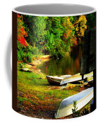 Down By The Riverside Coffee Mug by Karen Wiles