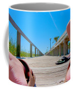 Down The Deck Coffee Mug by Betsy Knapp
