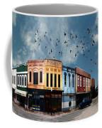 Downtown Bryan Texas 360 Panorama Coffee Mug
