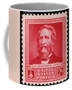 Dr Crawford W Long Postage Stamp Coffee Mug