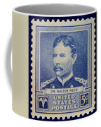 Dr Walter Reed Postage Stamp Coffee Mug