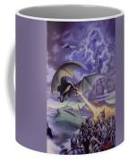 Dragon Combat Coffee Mug