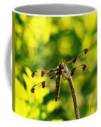 Dragonfly In Green Coffee Mug