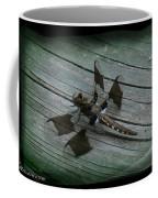 Common Whitetail Dragonfly Coffee Mug