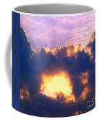 Dramatic Cloud And Sun Formation Coffee Mug