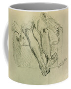 Drawing Class. Legs And Feet Coffee Mug