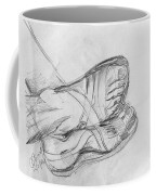 Drawing Class. Sandaled Feet Coffee Mug